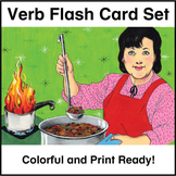 ESL Flash Cards-Verbs 1