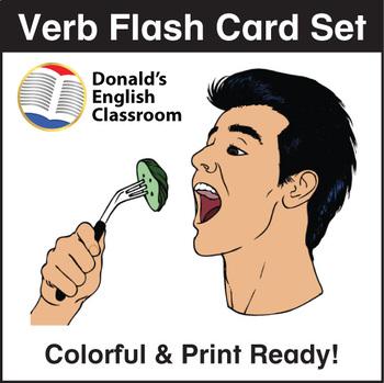 ESL Flash Cards-Verbs 2