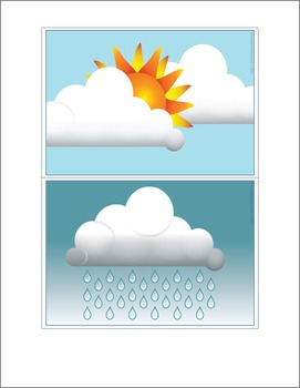 ESL Flash Cards - Weather