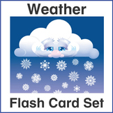 ESL Flash Cards-Weather