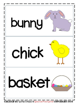 ESL Flashcards - Spring FREEBIE