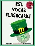 ESL Flashcards - March