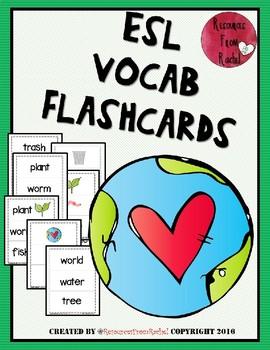 ESL Flashcards - Earth
