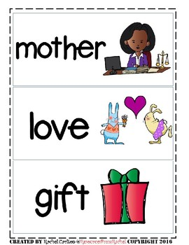 ESL Flashcards - Mother's Day