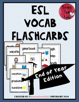 ESL Flashcards - End of Year