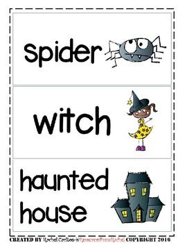 ESL Flashcards - Halloween