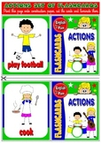 ESL Flashcards (animals, actions, clothes, nationalities, body parts...)