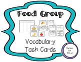 ESL Food Group Task Cards