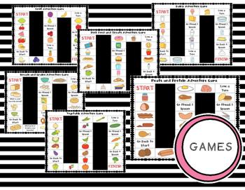 ESL Food Group Vocabulary Bundle