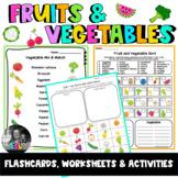 ESL Fruits & Vegetables ESL Flashcards, Worksheets & Activities
