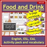 ESL Food and Drink in English