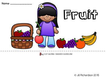 ESL Food Group:  Fruit Flip Book!