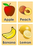 ESL Fruits and Vegetables Flashcards