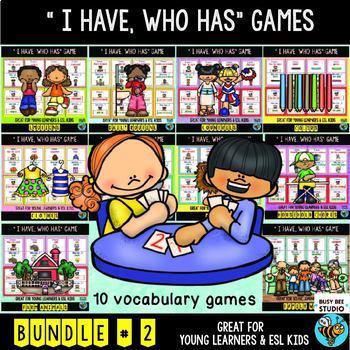 ESL GAMES: I have, who has? Bundle # 2