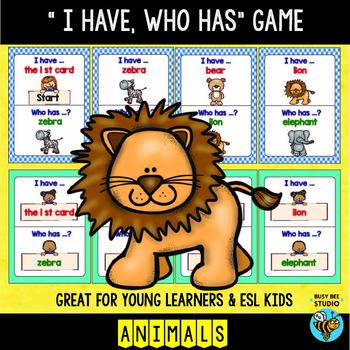 """ESL/ELL """"I have, who has"""" 