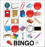 ESL Game-Classroom Vocabulary Bingo