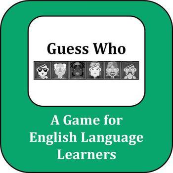 ESL Game: Guess Who