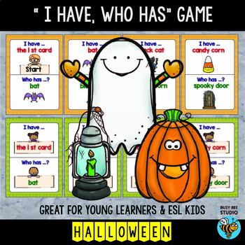 ESL Game: Halloween (I have, who has...)