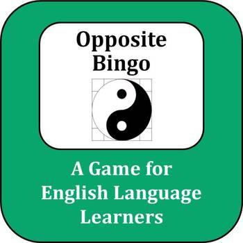 ESL Game: Opposite Bingo