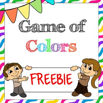 ESL Game of Colors