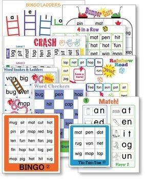 CVC Word Game Set