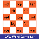 CVC Word Game Bundle