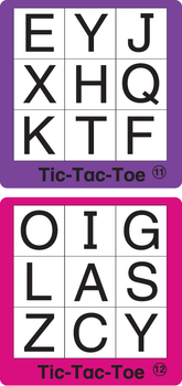 ESL Games - ABC Tic-Tac-Toe 1