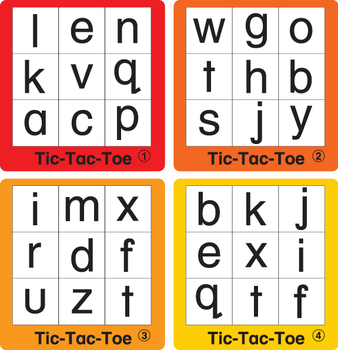 ESL Games-ABC Tic-Tac-Toe 2