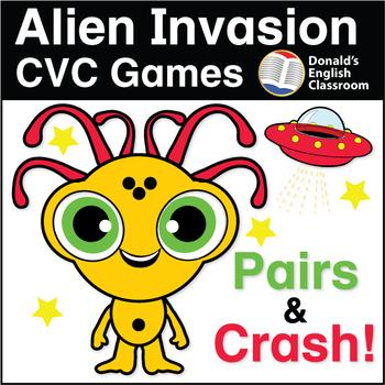 ESL Games - Alien Invasion CVC Game Set