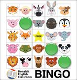 ESL Games-Animal Bingo