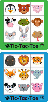 ESL Games-Animal Tic-Tac-Toe