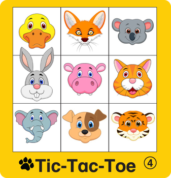 ESL Games-Animal Tic-Tac-Toe