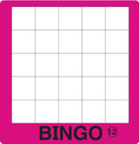 ESL Games-Blank Bingo