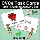 CVCe Word Task Cards