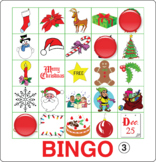ESL Games-Christmas Bingo