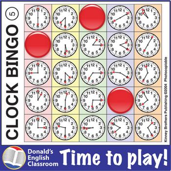 ESL Games-Clock Bingo