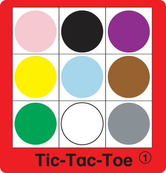 ESL Games-Color Tic-Tac-Toe