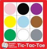 ESL Games-Color Tic-Tac-Toe