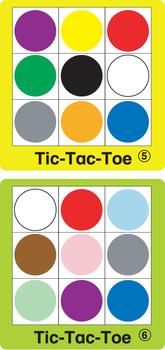Color Tic Tac Toe