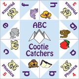 ESL Games - Cootie Catchers - ABC & Phonics