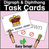 ESL Games - Diphthong & Digraph Task Cards