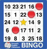 ESL Games-Easy Number Bingo 1