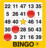 ESL Games-Easy Number Bingo 2