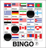 ESL Games-Flag Bingo
