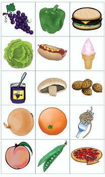 ESL Games-Food Bingo