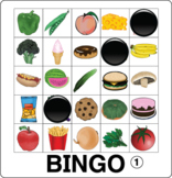 ESL Games-Food Bingo #bestsellers