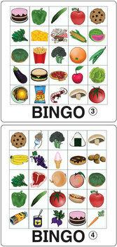 ESL Games-Food Bingo #bestsellers