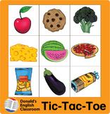 ESL Games-Food Tic-Tac-Toe
