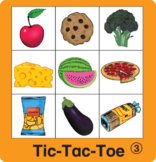 ESL Games-Food Tic-Tac-Toe
