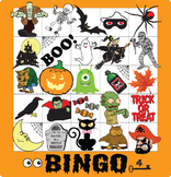 ESL Games-Halloween Bingo